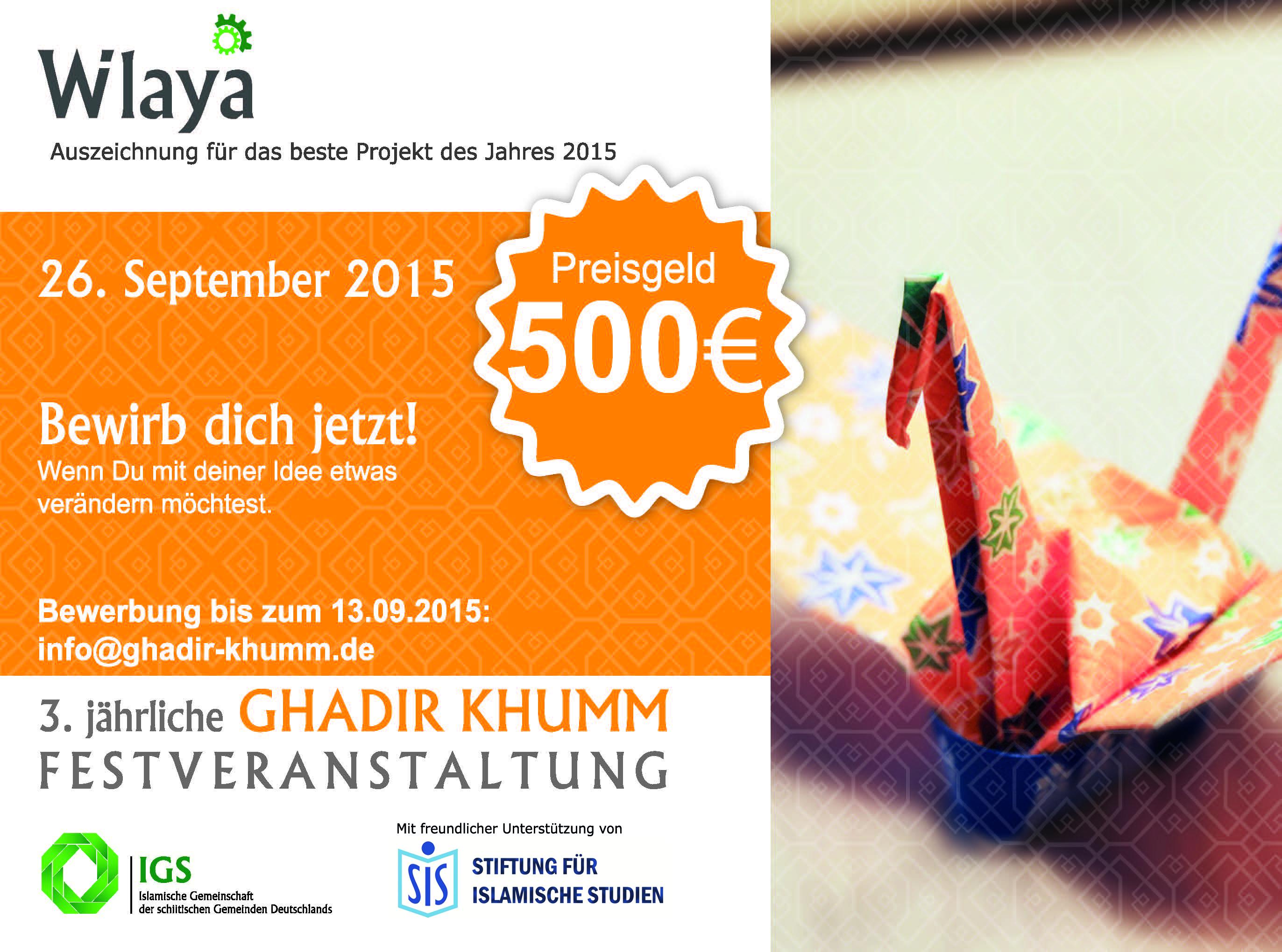Auszeichnung_Wilaya_Preis